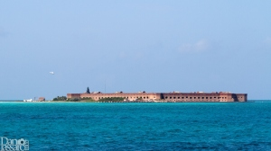 My view from the bow of the ferry on approach to Fort Jefferson on Garden Key, Dry Tortugas