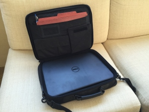 Dell 3531 Laptop in its cocoon
