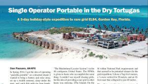 Article header, QST Magazine, March 2015
